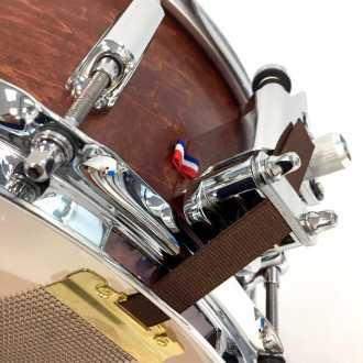 Snare Rive Gauche finish Marron Five - 7