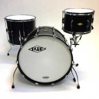 Drums Rive Gauche Back in Black - 2