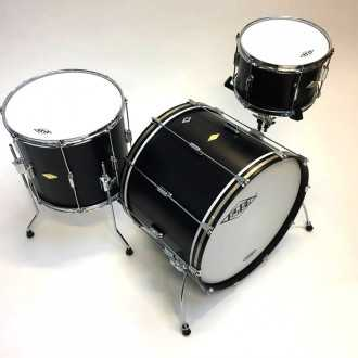 Drums Rive Gauche Back in Black - 7
