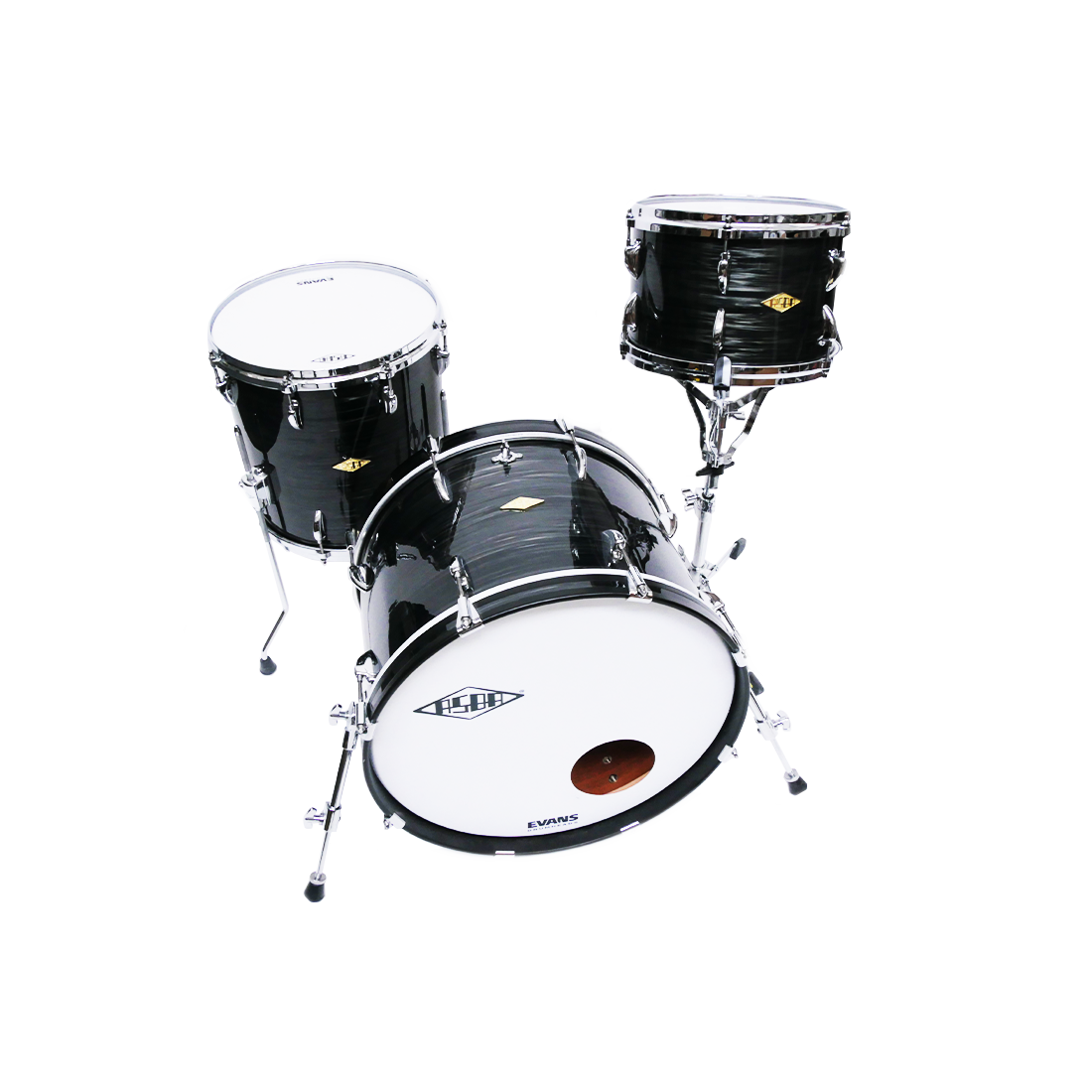 Drums Revelation Asblack top view