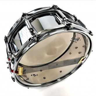 Snare Steel Loving You bottom view with snare wires