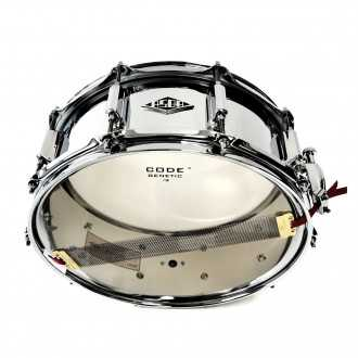 Snare Steel Loving You bottom view with snare wires 2