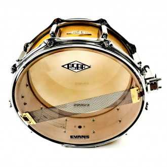 Snare Rive Gauche finish Elvin Jaune + back + snare wire
