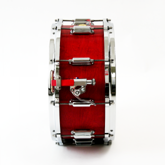 Snare Rive Gauche finish Lou Red strainer + profil