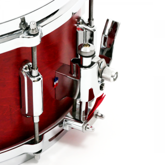 Snare Rive Gauche finish Lou Red strainer