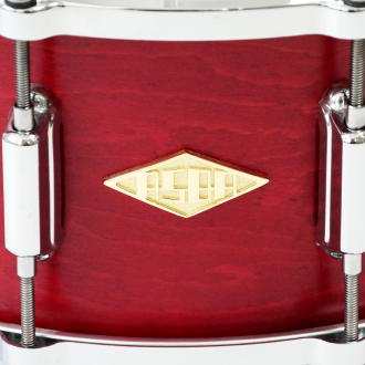 Snare Rive Gauche finish Lou Red logo + hardware
