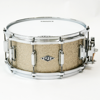 Snare Revelation finish Marcel Blanche front + full view + logo