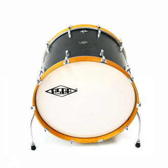 Drum kit Simone Simone yellow hoop bass drum 3