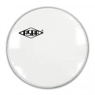 "Peau de résonance grosse caisse asba ATOMIC smooth white 24"" - 1"